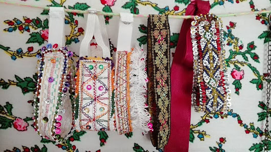 Embroidered Chokers!