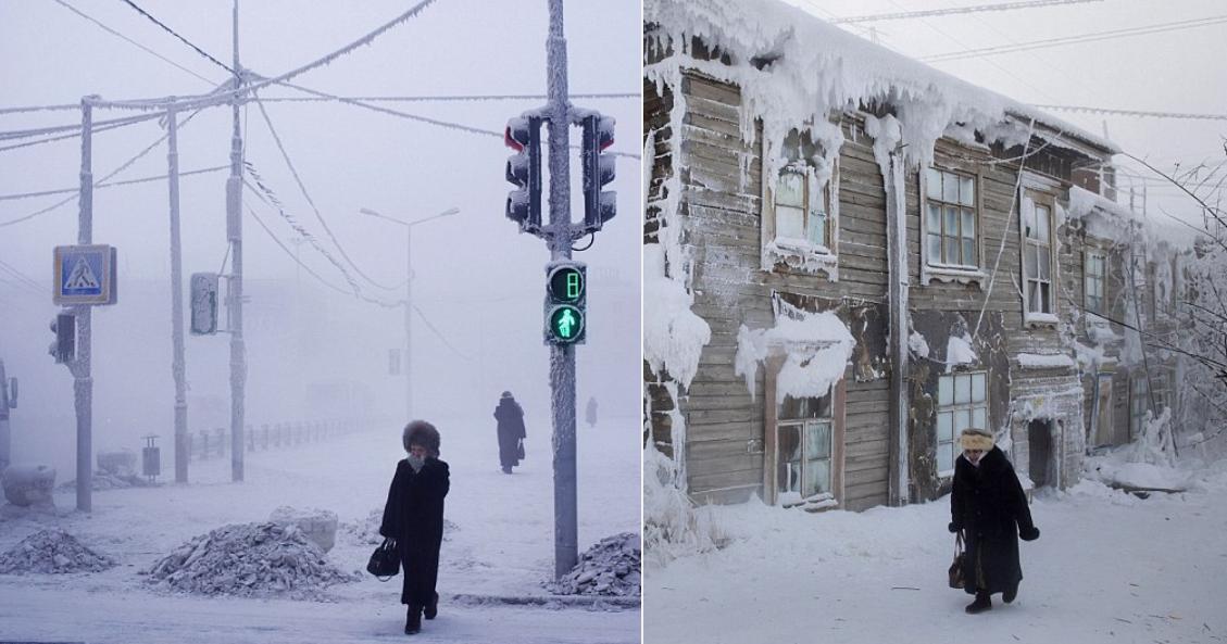 Tο πιο παγωμένο μέρος του κόσμου - Σε 60 δευτερόλεπτα έρχεται ο θάνατος, υπό προϋποθέσεις