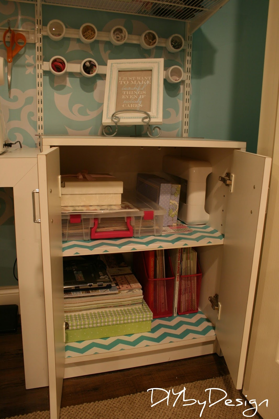 Diy By Design Craft Sewing Closet Reveal