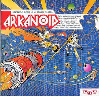 Imagen del Arkanoid de Commoder 64