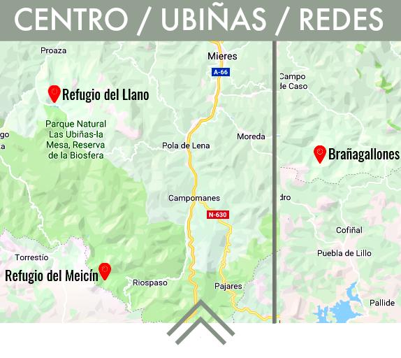refugios de montaña en las ubiñas redes y centro de asturias