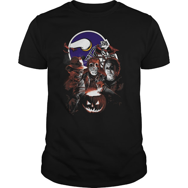 Minnesota Vikings Halloween Scream Team Shirt