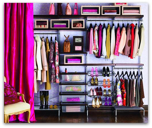 Art Symphony: Organizing your closet
