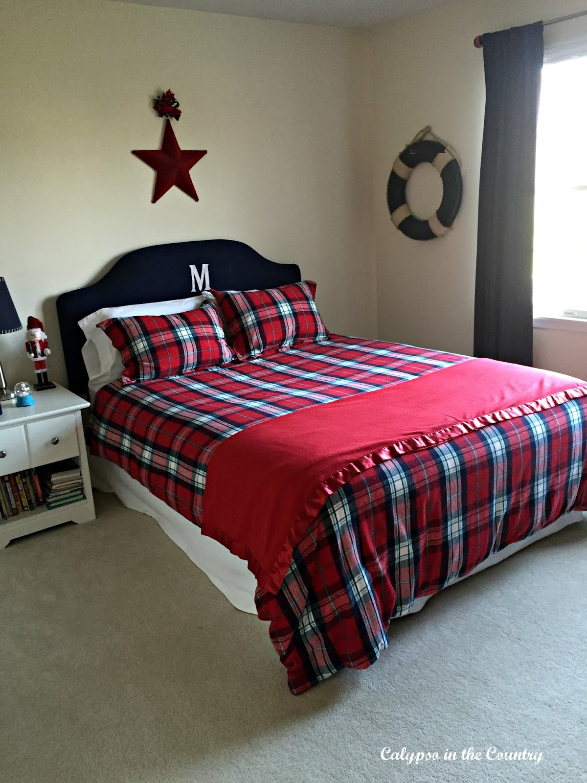 Red and Blue Boys Room