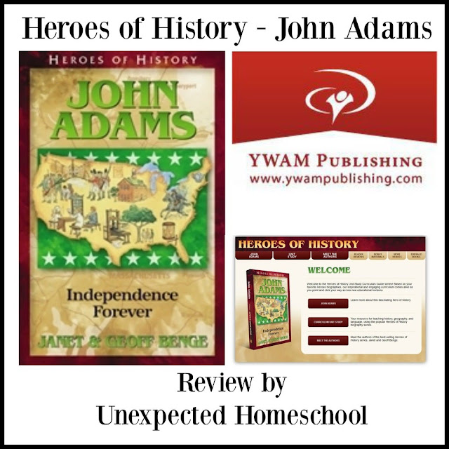 YWAM Publishing: Heroes of History - John Adams