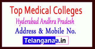Top Medical Colleges in Hyderabad Andhra Pradesh