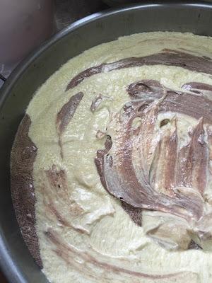 mudahnya membuat kek marble butter; kek butter; kek marble