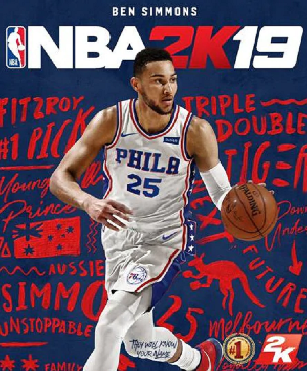 Ben Simmons - NBA 2K19 Cover Star in Australia