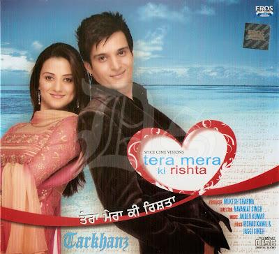 Poster Of Tera Mera Ki Rishta (2009) In 300MB Compressed Size PC Movie Free Download At worldfree4u.com