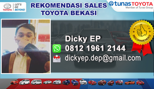 Rekomendasi Sales Toyota Bekasi Timur 2019