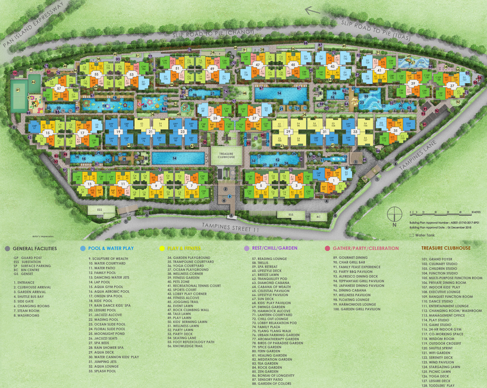 Treasure Tampines Site Plan