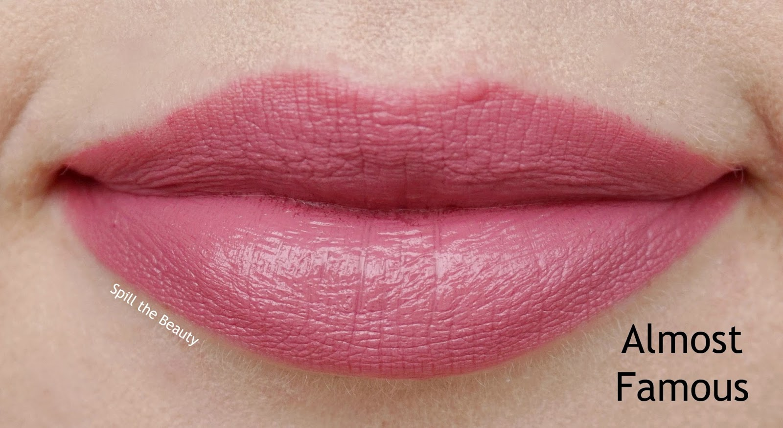 nyx pin up pout lipstick review swatches almost famous