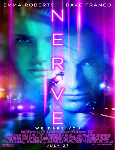 Ver Un juego sin reglas (Nerve) (2016) Online