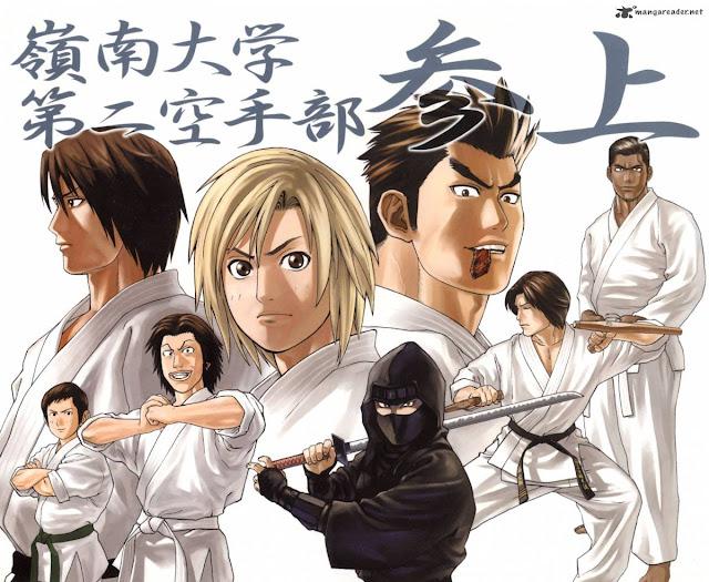Truyện Karate Shoukoushi Kohinata Minoru