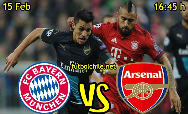 Ver stream hd youtube facebook movil android ios iphone table ipad windows mac linux resultado en vivo, online: Bayern Munich vs Arsenal