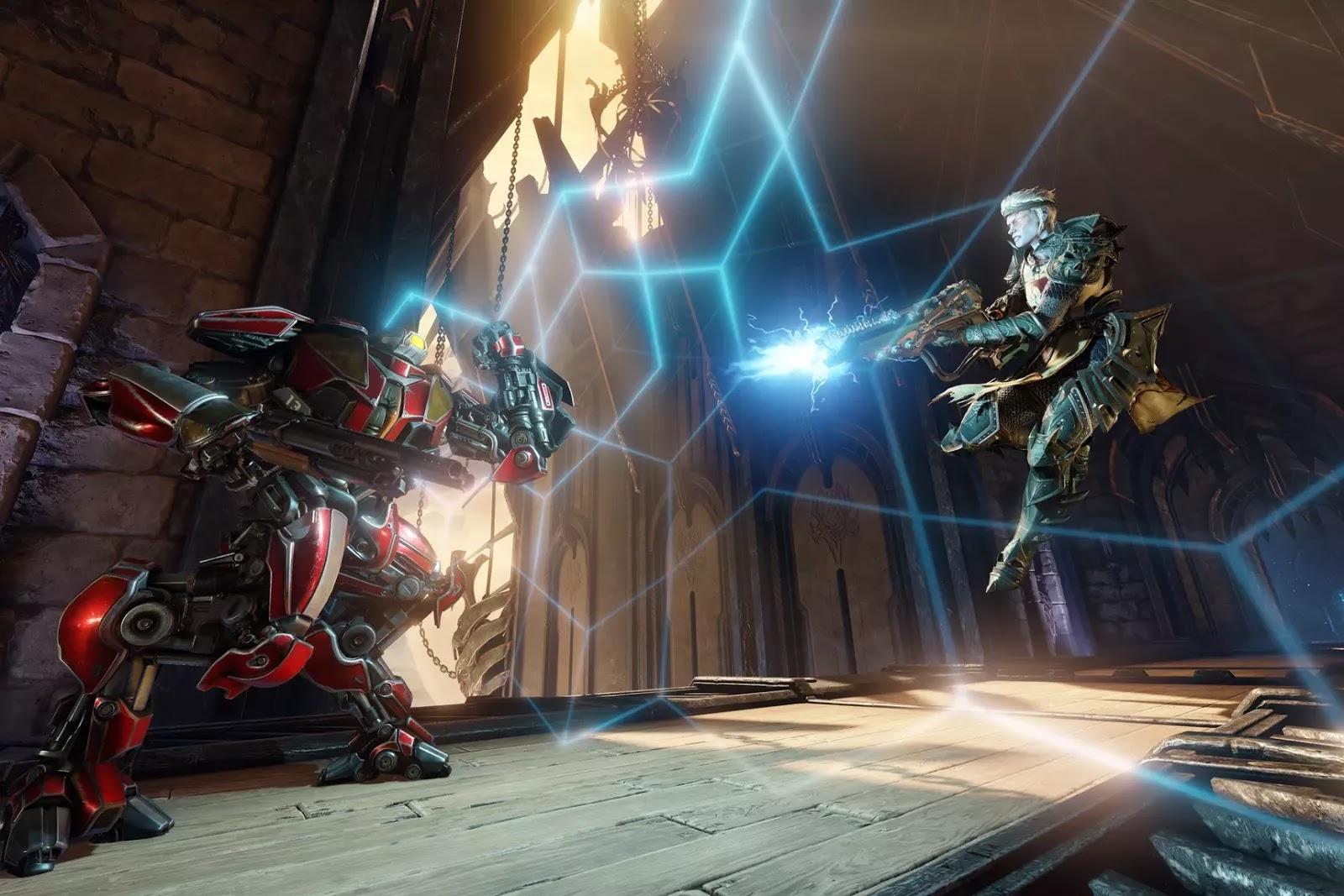 Quake Champions será gratuito con transacciones