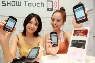 Samsung SHW-A170K NFC-enabled phone for KT in South Korea 1