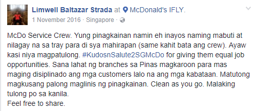 Viral Now! Netizen's Post About An Old Man Service Crew and How People React on This