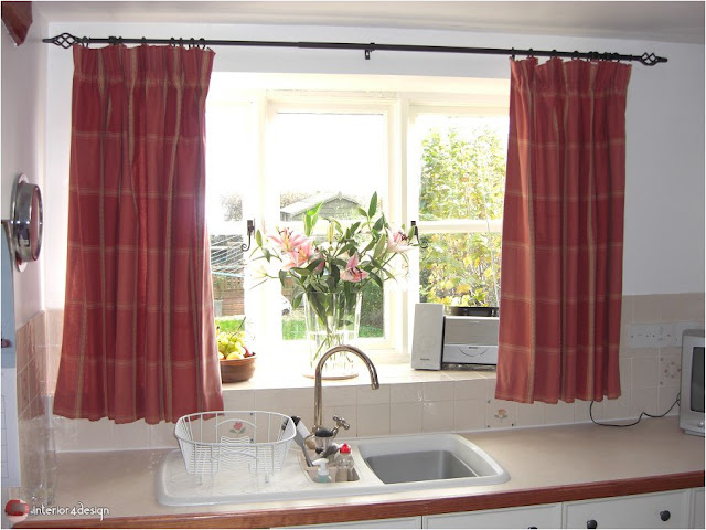Elegant Kitchen Curtains 30