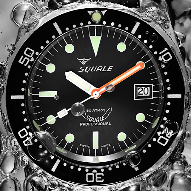 SQUALE 1521 50 ATM Professional Automatic Watch