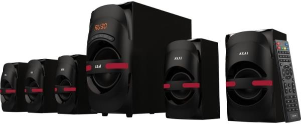 AKAI HT014A-5086F 5.1 - Ηχοσύστημα 5.1 με ισχύ 105 Watt από την AKAI σε Super τιμή