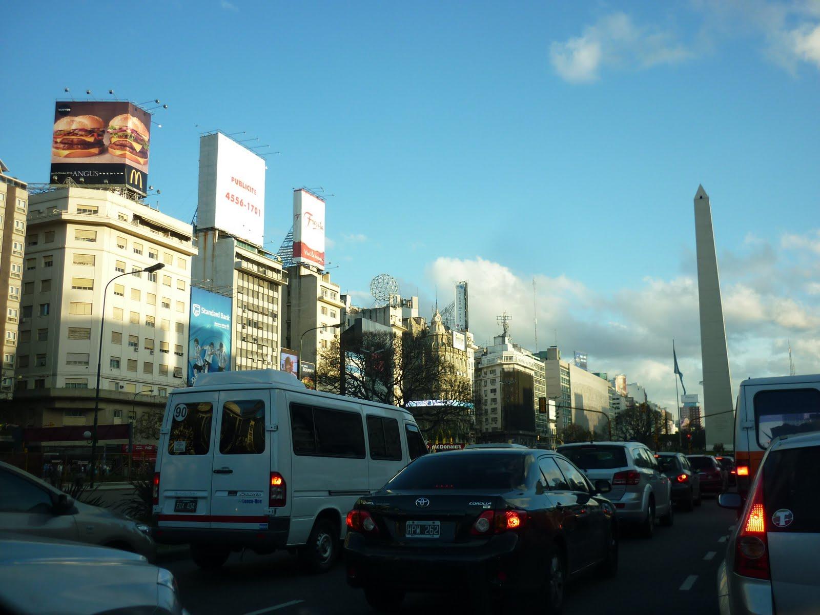 Julio Monde De Large La Route Du Plus Argentine Buenos La 9 Aires