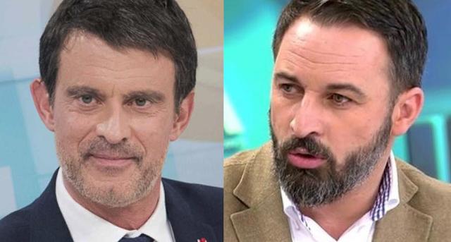 Manuel Valls ataca a Vox y Abascal enfurecido amenaza con nuevas elecciones