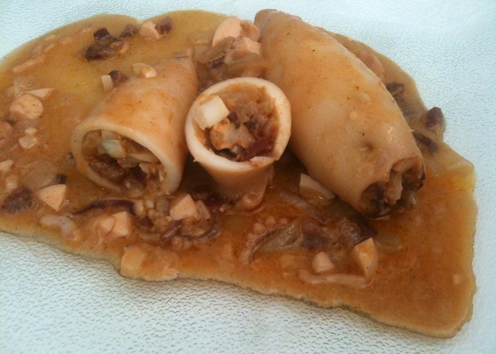 Como Cocinar Calamares Rellenos | Cocina Con Anibal