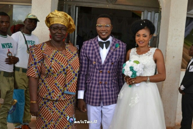 Couple who met at NYSC camp finally gets married