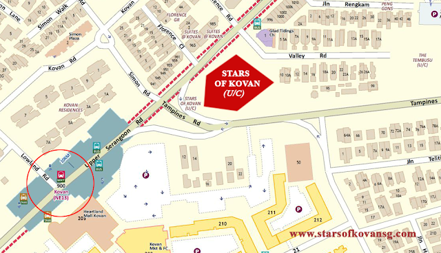 Stars of Kovan location map