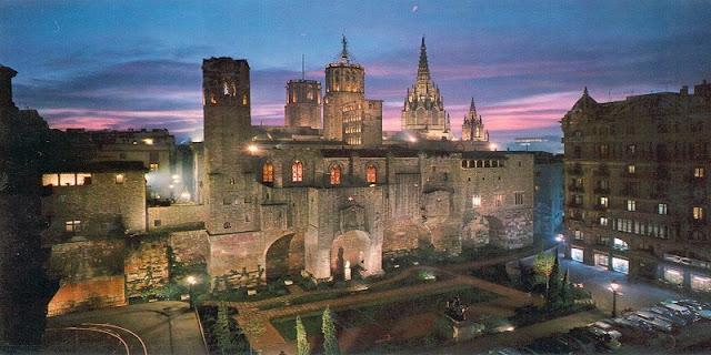 Cidade Velha em Barcelona