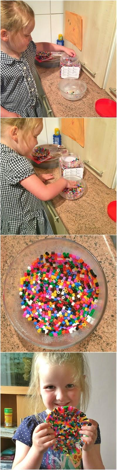 Summer making her bowls