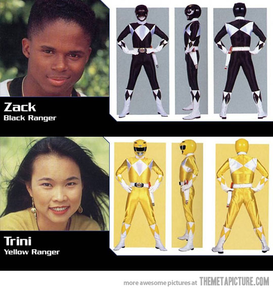 power rangers stereotyping