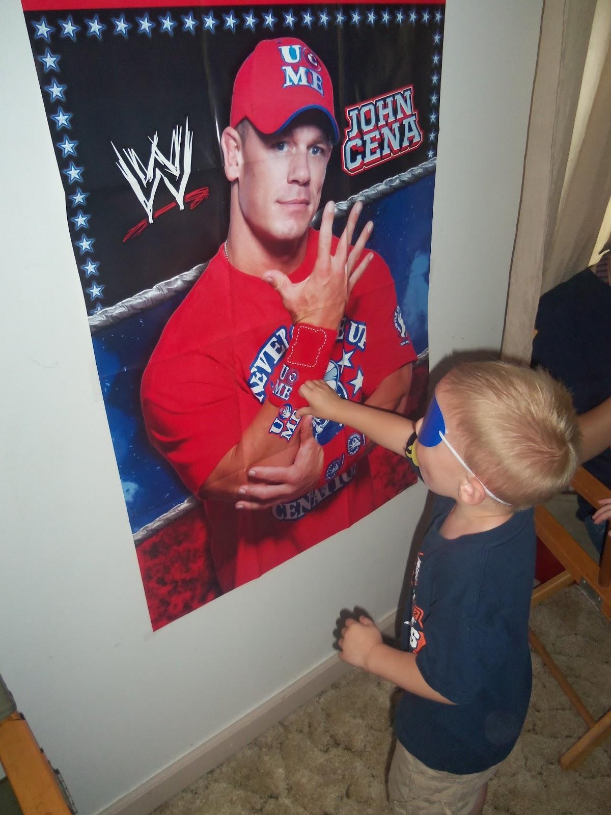 Two Bows And A Ballcap Wwe Birthday Throw Down John Cena