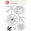 Essentials by Ellen Mondo Peony stamp set