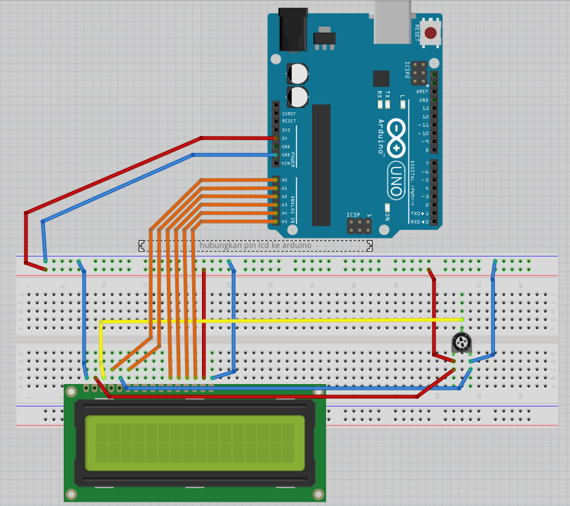 Arduino uno belajar menggunakan keypad dan lcd