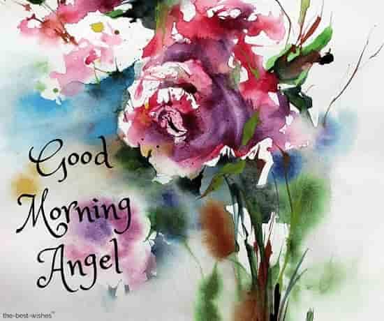 good morning angel wallpaper hd
