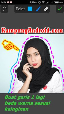 Download app edit foto garis putus di android gratis