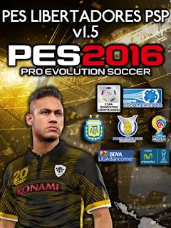 PES 2016 Special Edition Libertadores v1.5 Patch by PES Libertadores PSP Android
