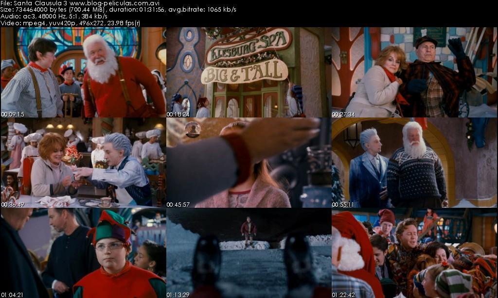 Descargar Santa Clausula 3 Español Latino DVDRip Ver