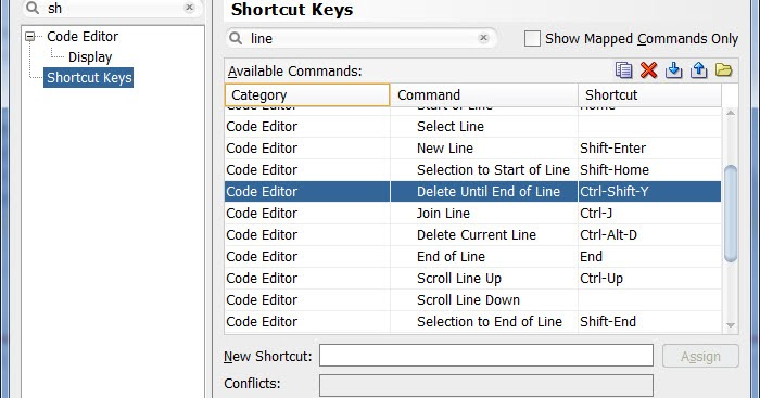 Steven 的 IT 學習旅程: Oracle SqlDeveloper 的常用快速鍵