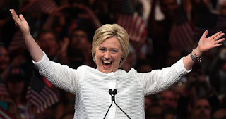 Hillary Accepts The Nomination