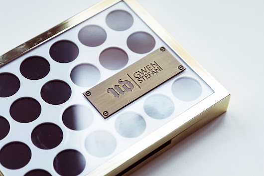 Urban Decay x Gwen Stefani Eyeshadow Palette Swatches & Review