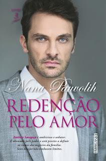 Livro Redenção pelo Amor - Nana Pauvolih