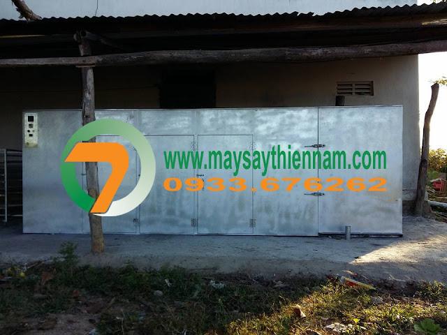 Hình 3 - Buồng sấy tại Ninh Thuận