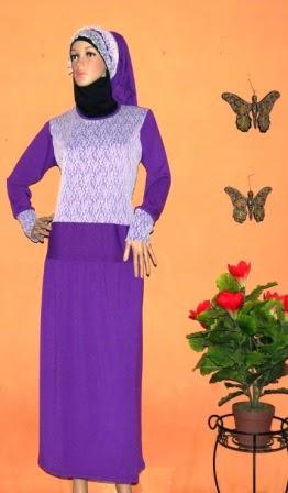 Gamis Brokat Hari Raya GKM4614