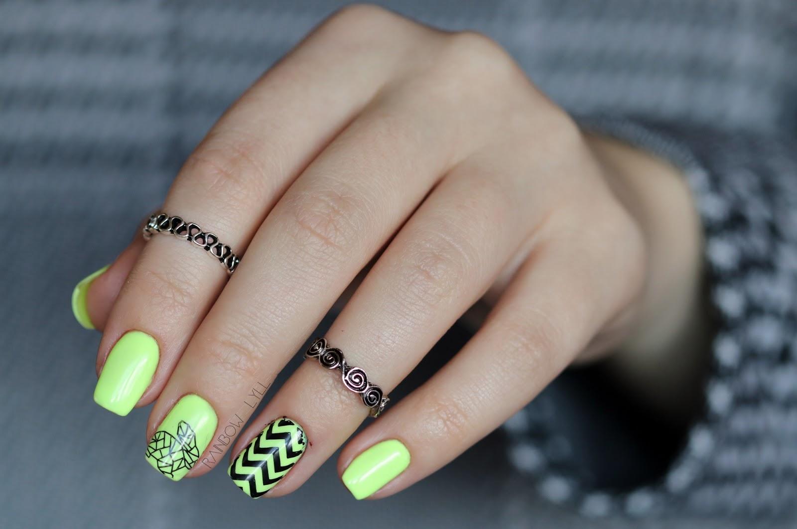 Iliz Beauty Neonowy Zajaczek Manicure Hybrydowy