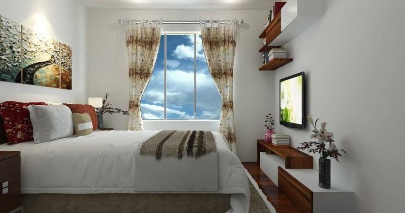 Cận cảnh thiết kế nội thất căn hộ 53m2 sang trọng và tinh tế - H4