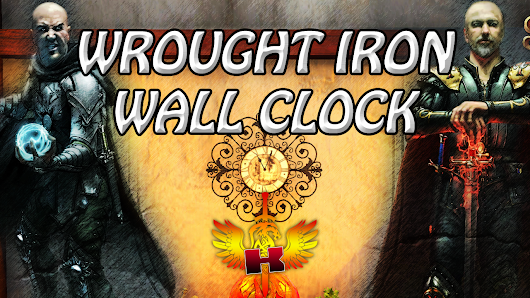 Bought A Wrought Iron Wall Clock With Game Gold • Shroud Of The Avatar