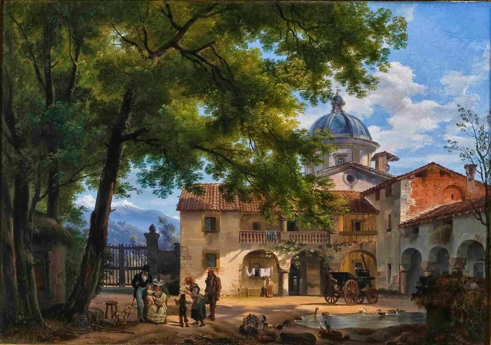 Di Pinto Bisceglie Materiale Edile un dipinto di giovanni migliara dal museo civico alla